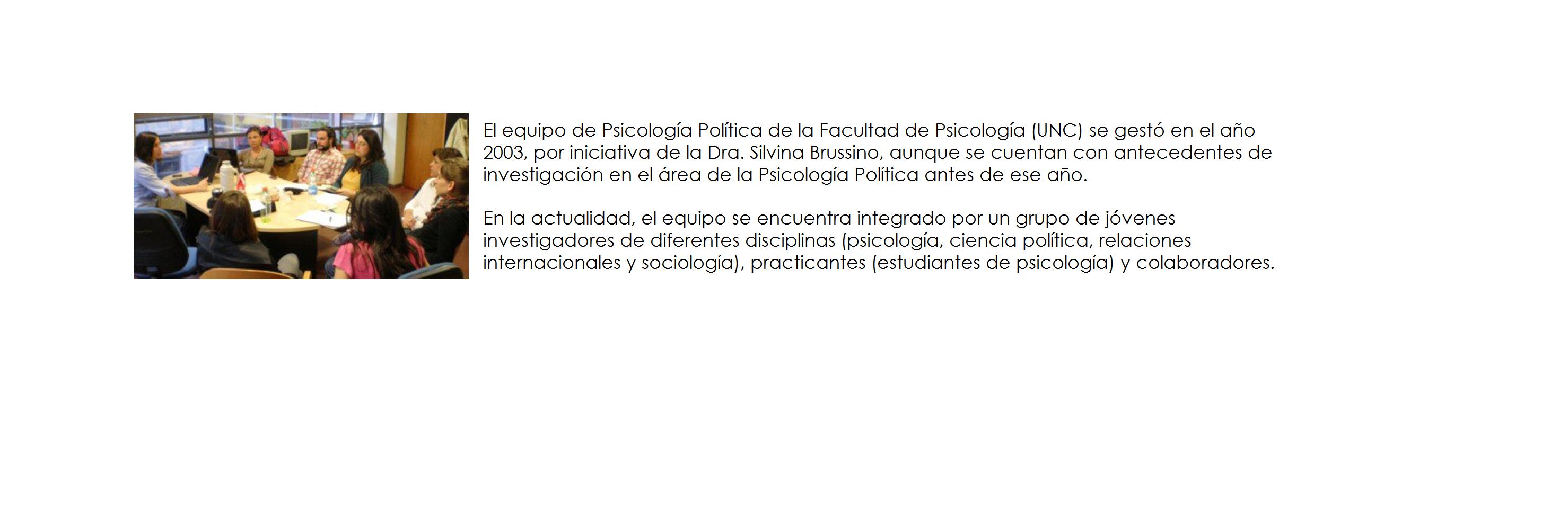 Equipo de Psicología Política
